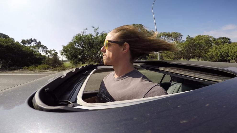 Long Hair at high speed