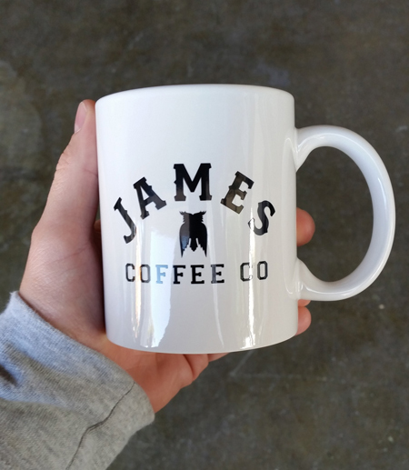 James Coffee Cup San Diego Ca