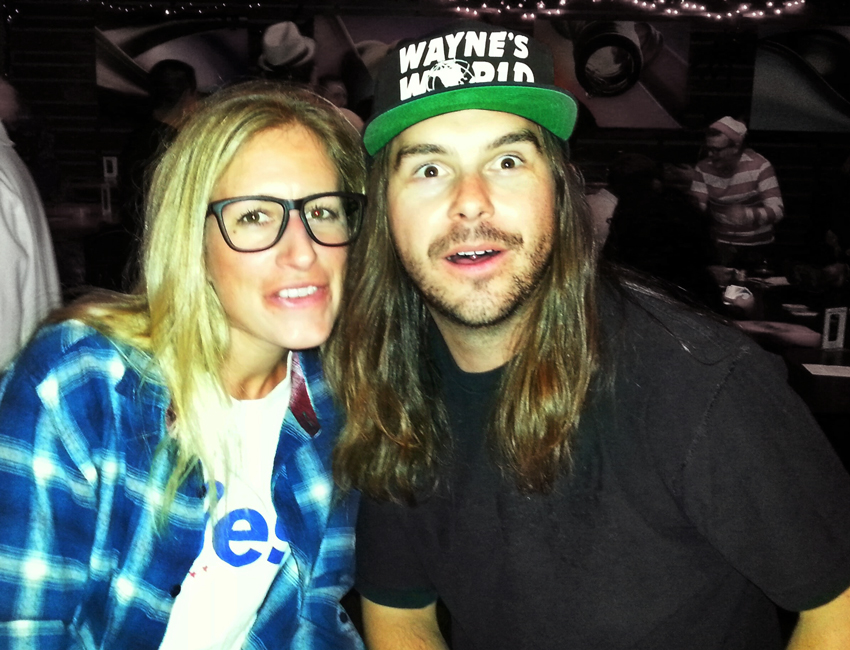 Halloween Costumes For Men With Long Hair - Wayne and Garth