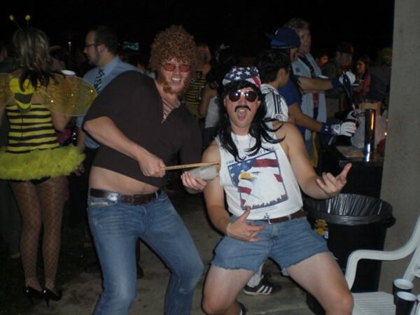 Halloween Costumes For Men With Long Hair - Patriotic Bro