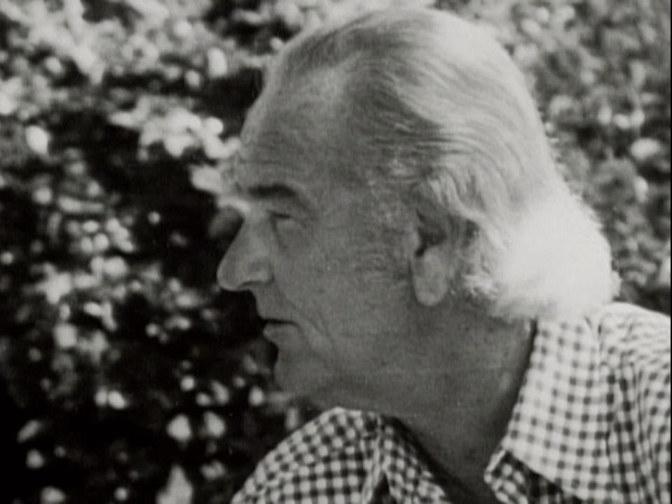 LBJ, the 36th President, with long hair.