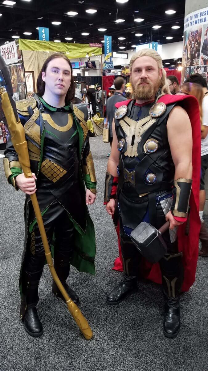 Thor at comic con