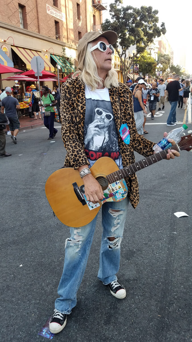 Curt Cobain With Long Hair