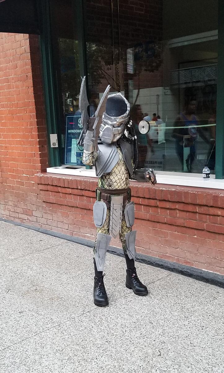 The Predator at Comic-Con