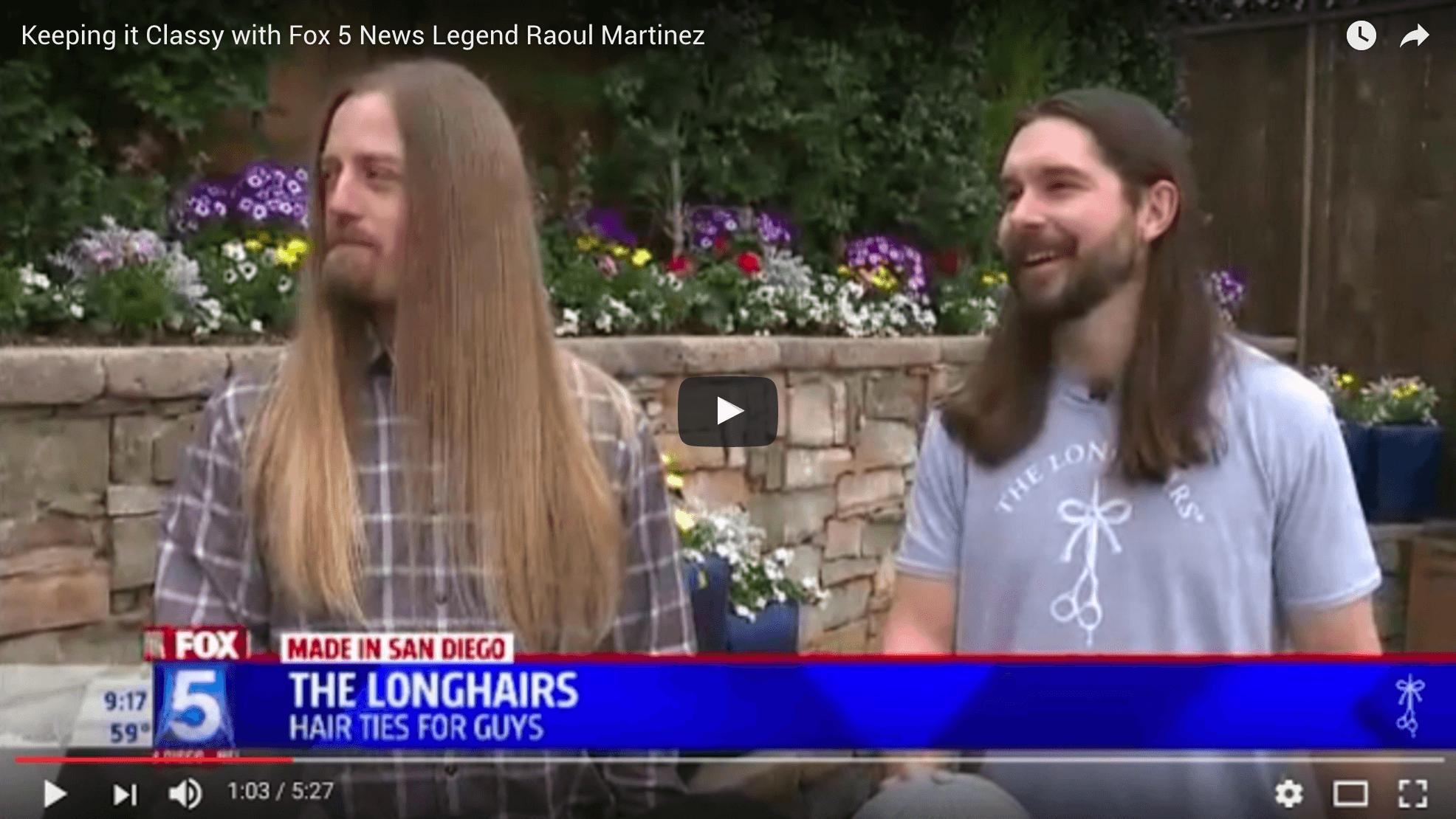 Live on FOX 5 San Diego - The Longhairs