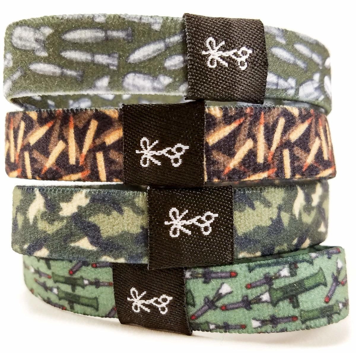 combat pack hair ties for guys