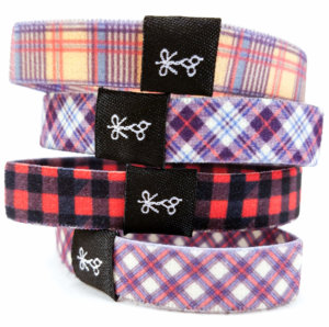 hair ties for guys - good plaid flannel