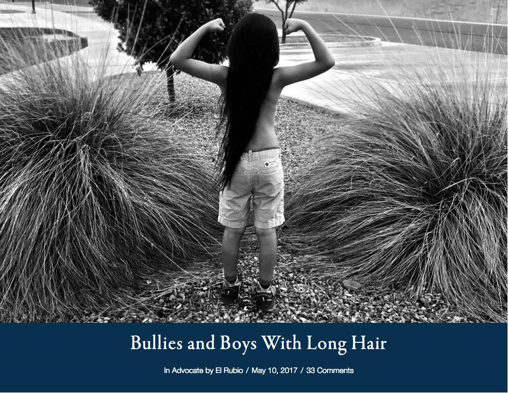 Bullies And Boys With Long Hair