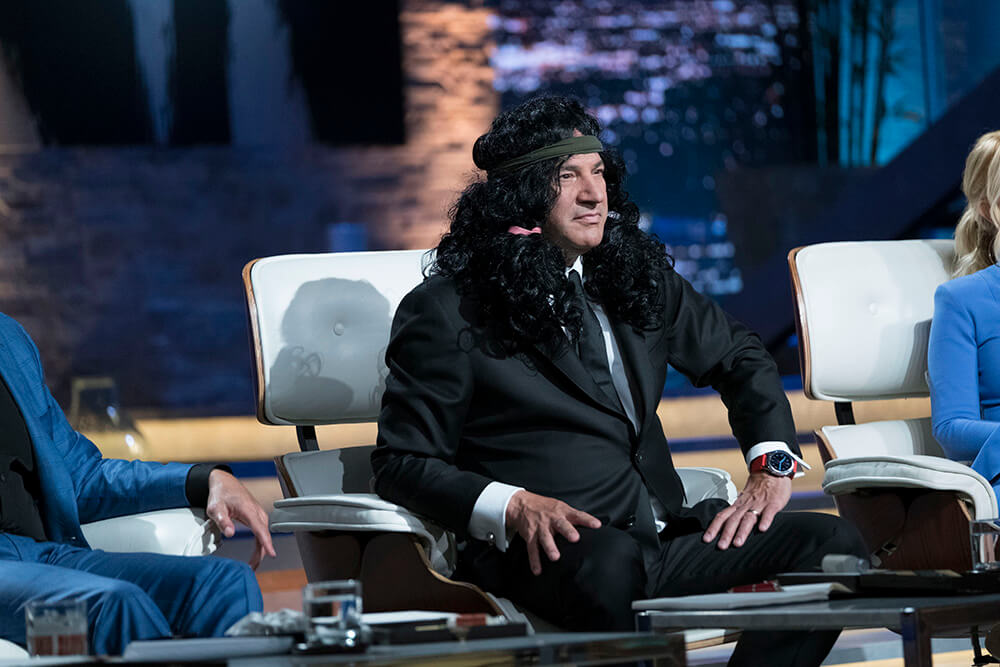 Kevin O'Leary with wig Shark Tank | The Longhairs