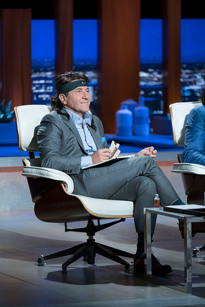 Robert Herjavec with wig Shark Tank | The Longhairs
