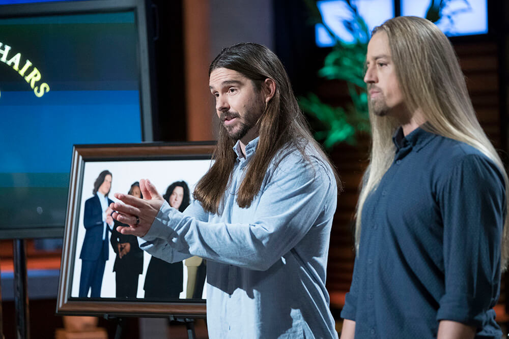 Lindsay Barto and Chris Healy Appear On Shark Tank | The Longhairs