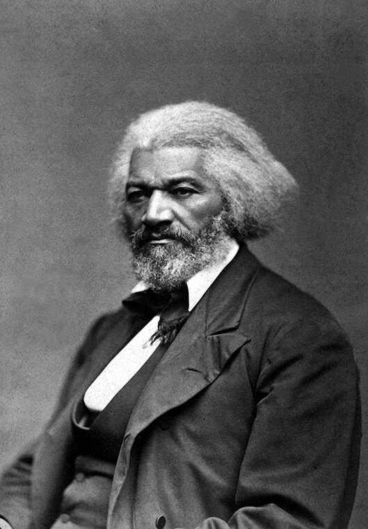 Frederick Douglas: one of the greatest black men with long hair in history