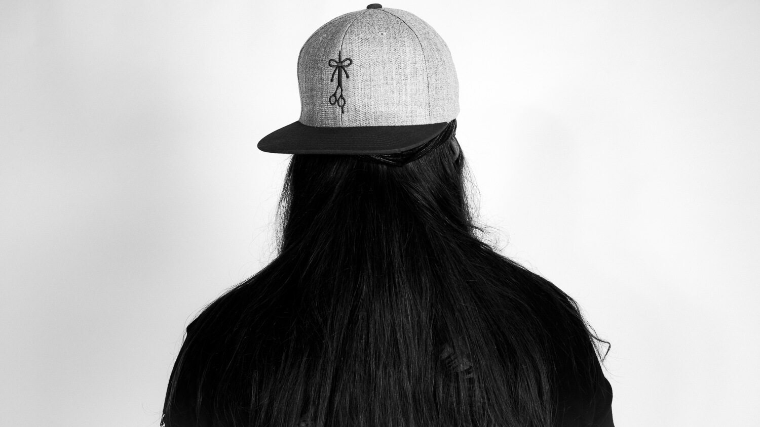 Back view of The Over Under hat style.