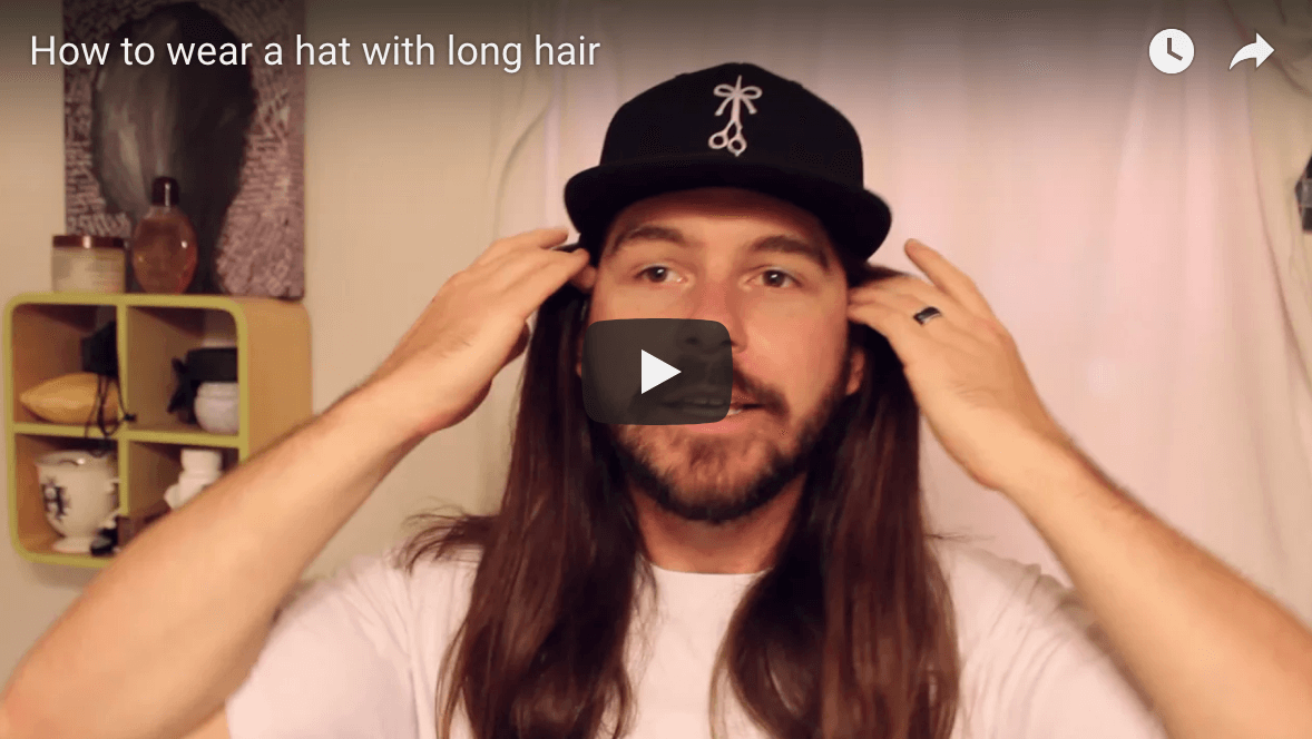 The Over Under. Even More Ways to Wear a Hat With Long Hair 81ae822440e