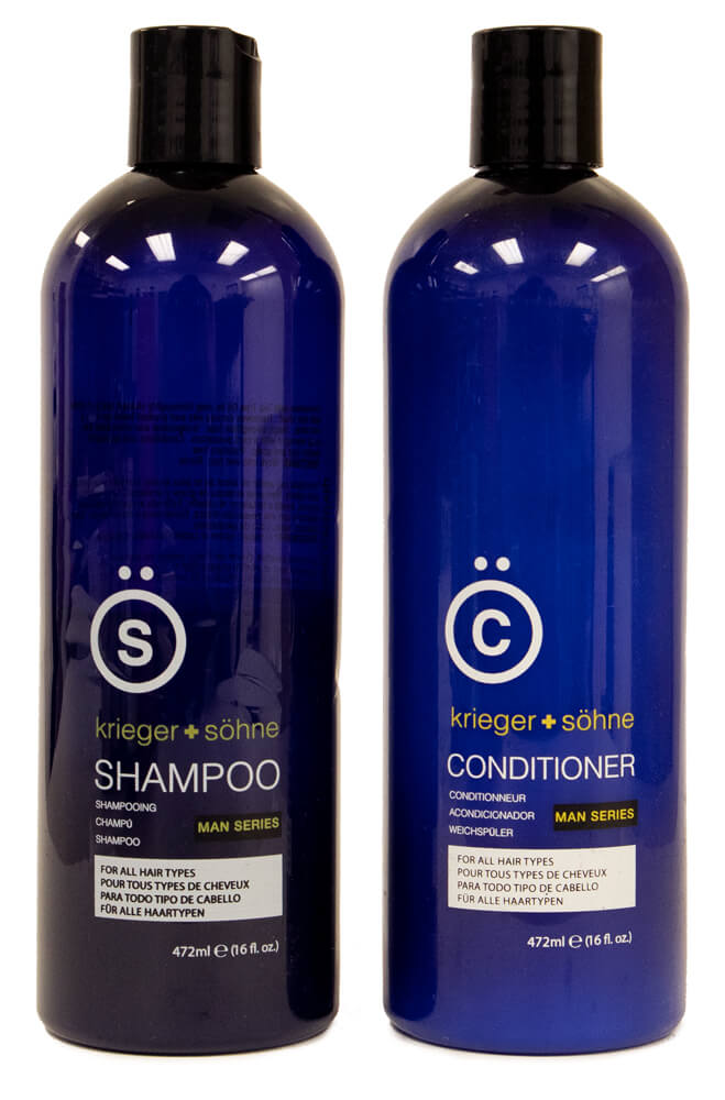 krieger + söhne Man Series reviewed in a shampoo & conditioner review for men