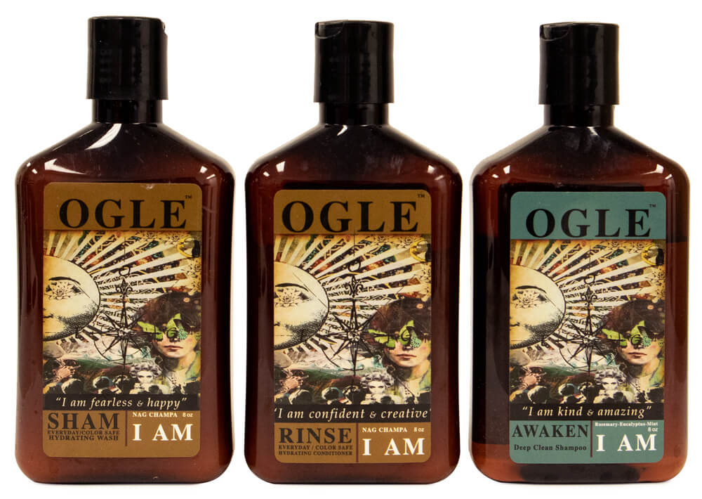 Ogle I AM reviewed in a shampoo & conditioner review for men