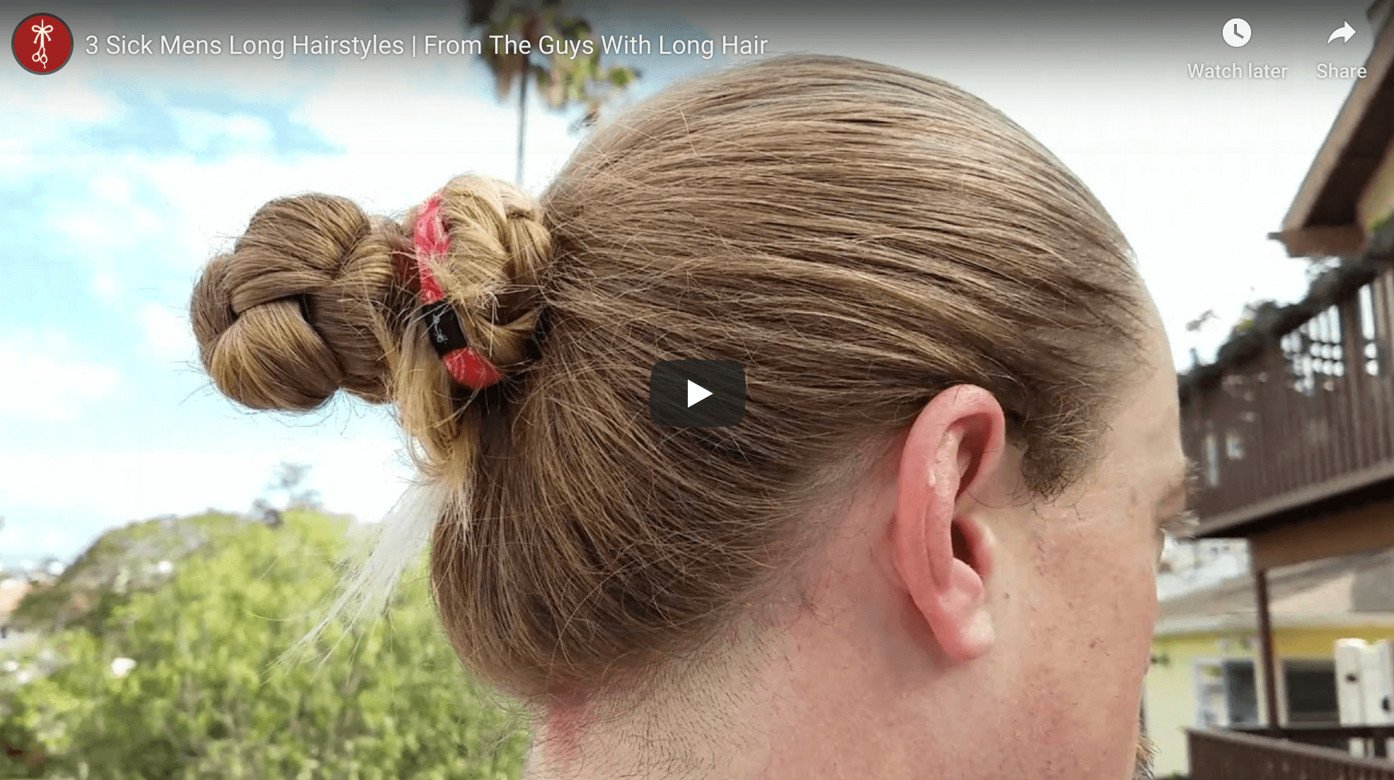 How To Tie Your Hair For Men Part III