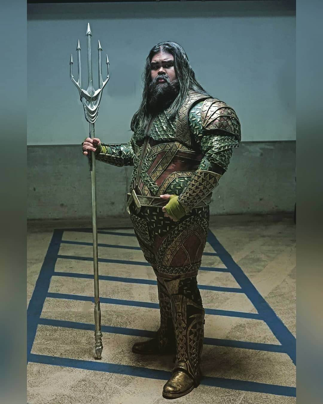 Halloween Costumes For Men With Long Hair - Aquaman