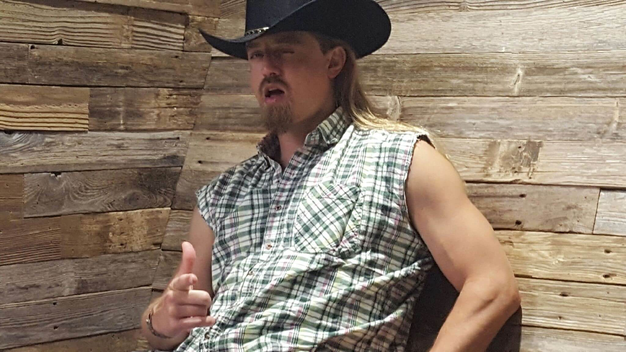 Halloween Costumes For Men With Long Hair - A Cowboy