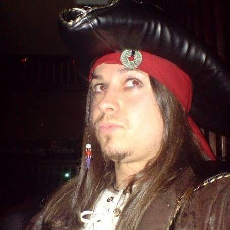 Halloween Costumes For Men With Long Hair - Jack Sparrow