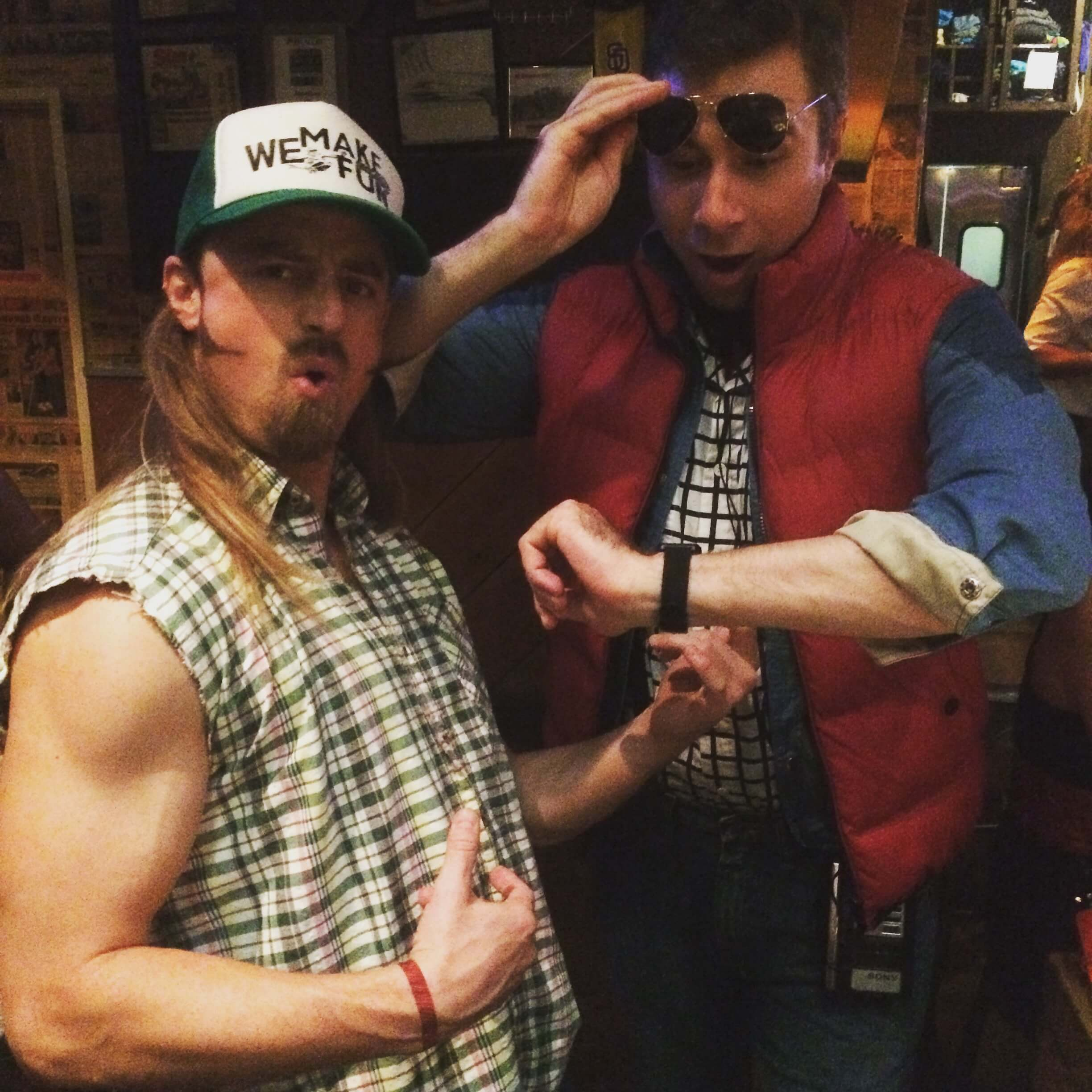Halloween Costumes For Men With Long Hair - Joe Dirt