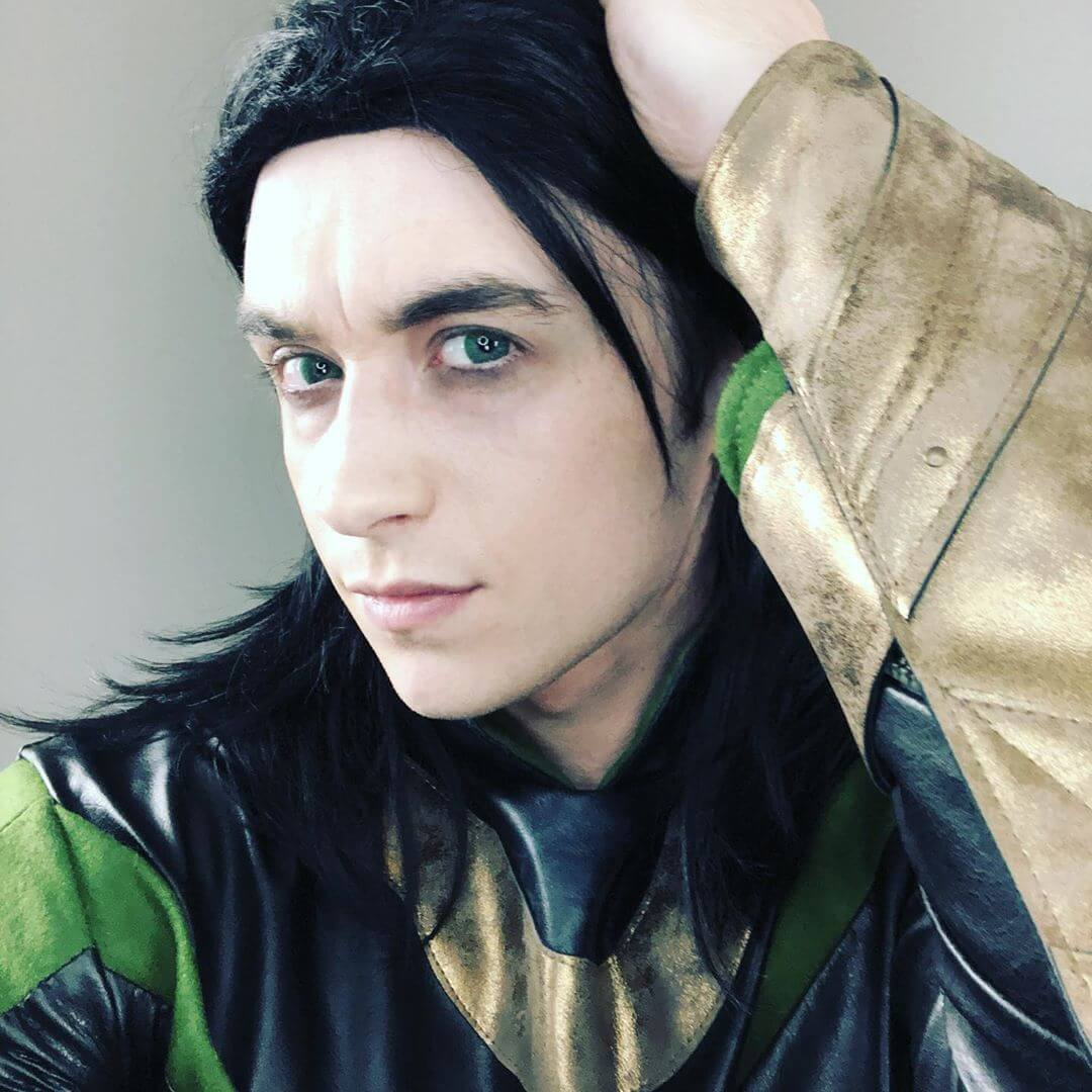 Halloween Costumes For Men With Long Hair - Loki