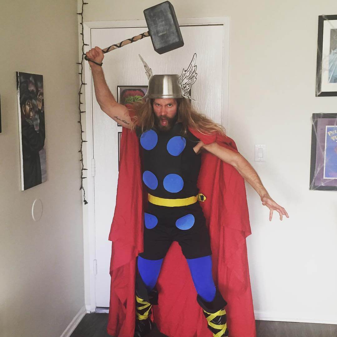 Halloween Costumes For Men With Long Hair - Thor