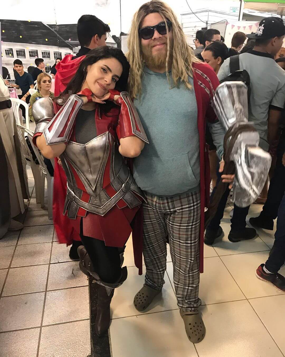 Halloween Costumes For Men With Long Hair - Plus Sized Thor