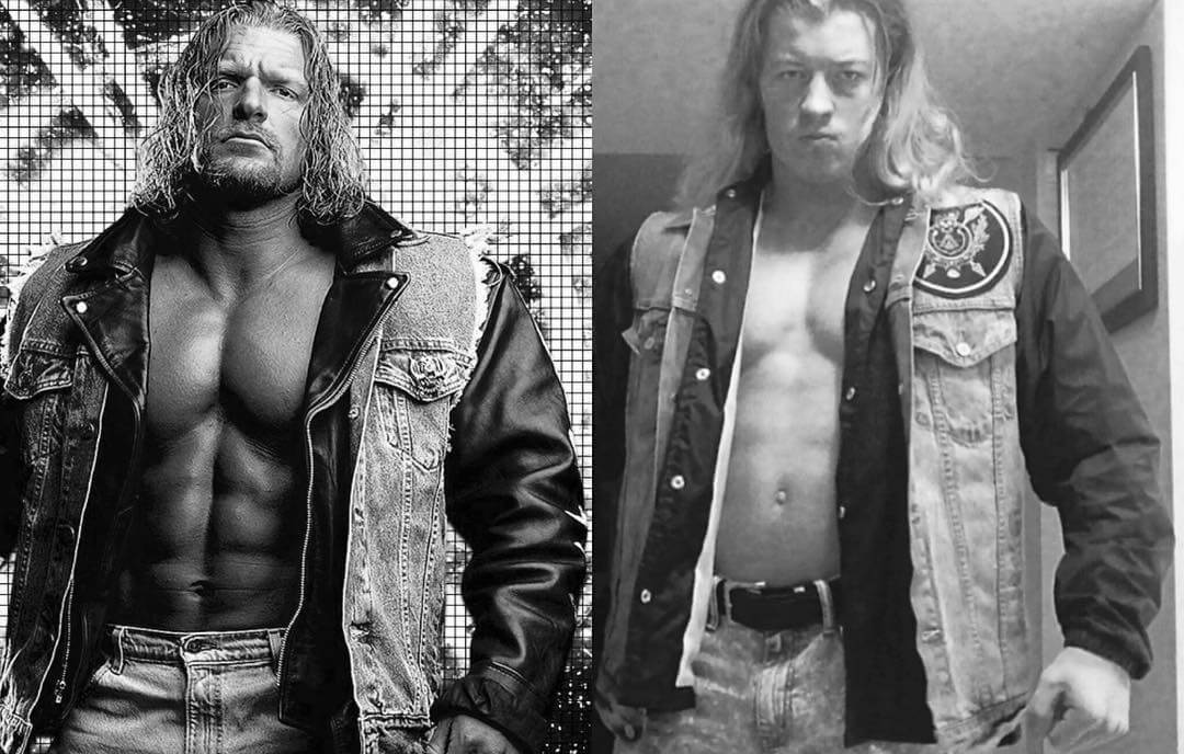 Halloween Costumes For Men With Long Hair - Triple H