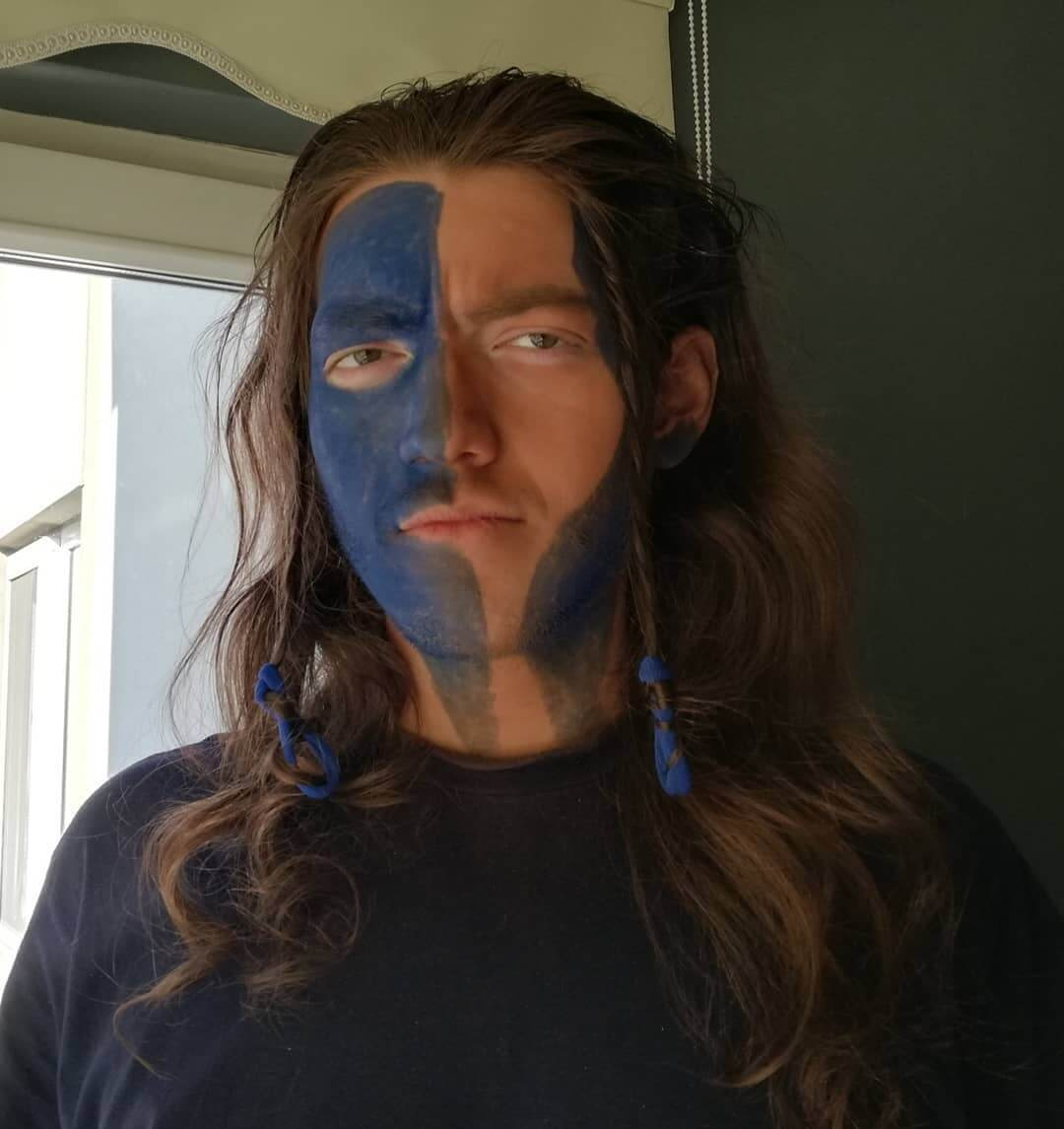 Halloween Costumes For Men With Long Hair - William Wallace
