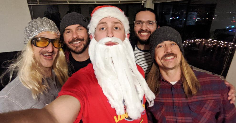 Santa & The Longhairs