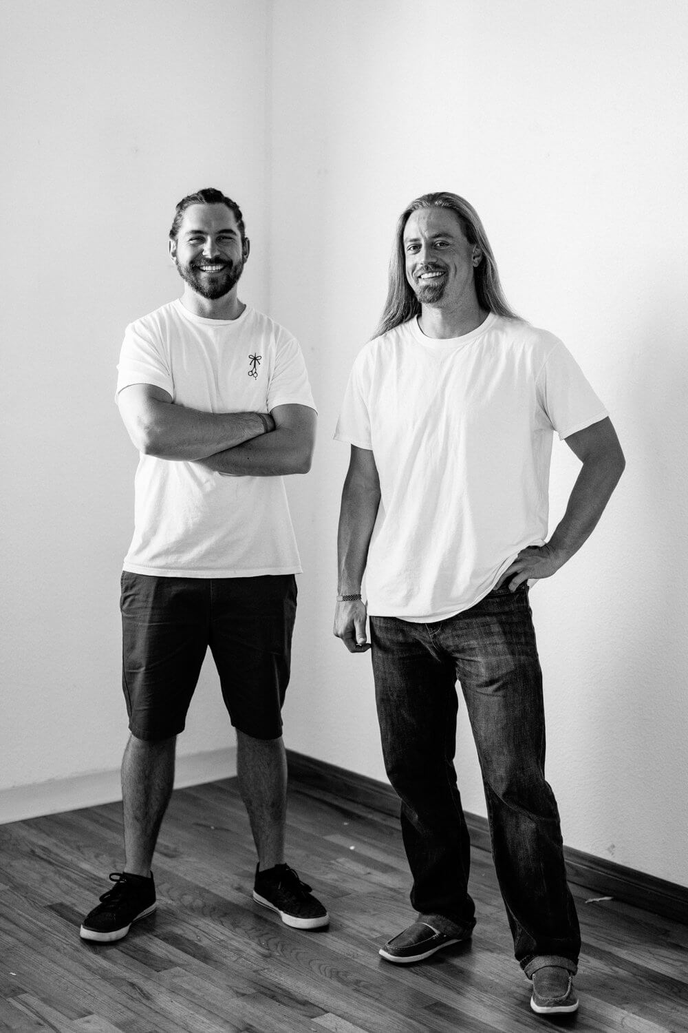 The Longhairs Founders Lindsay Barto and Chris Healy