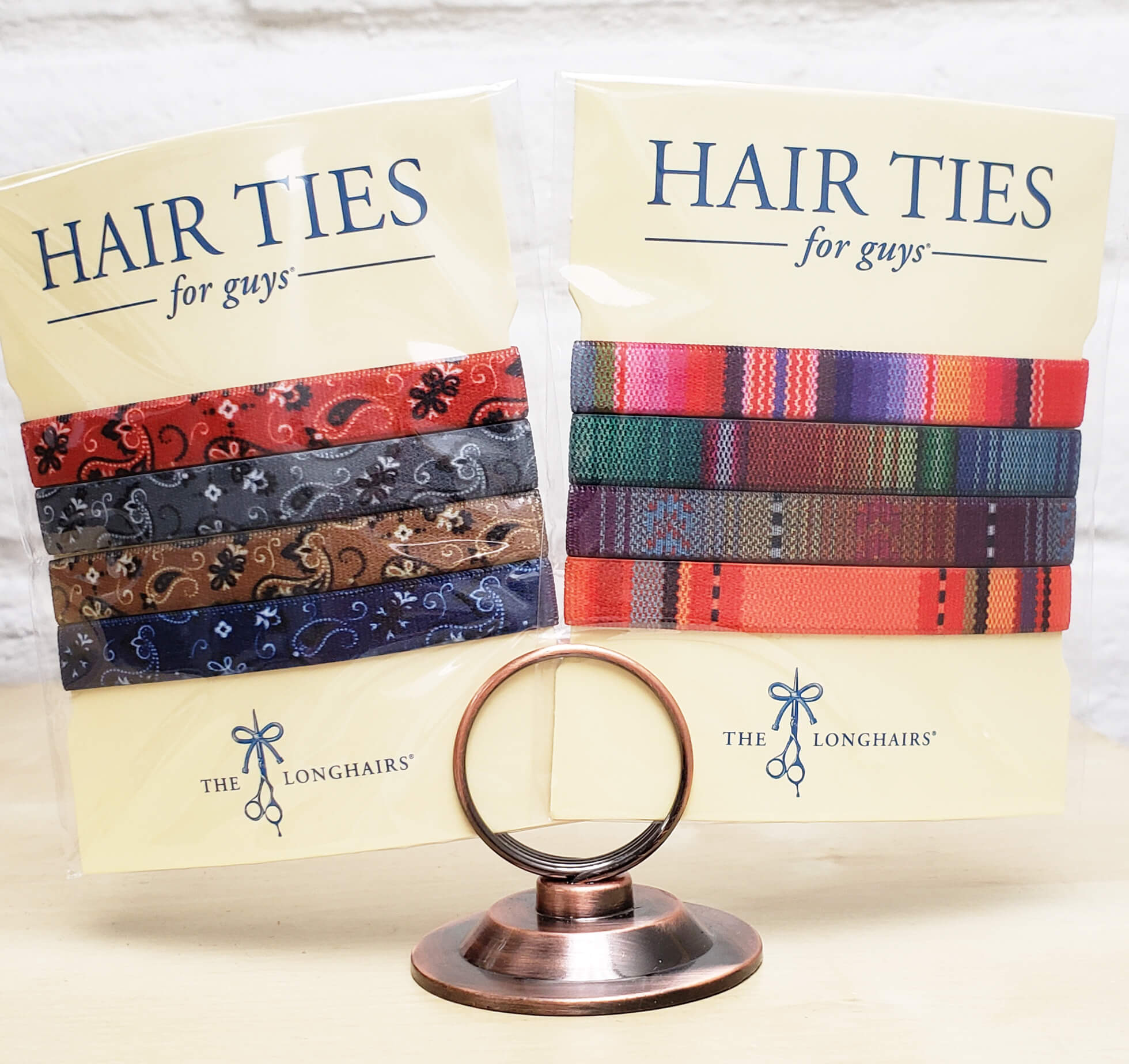 Radar Release Hair Ties For Guys
