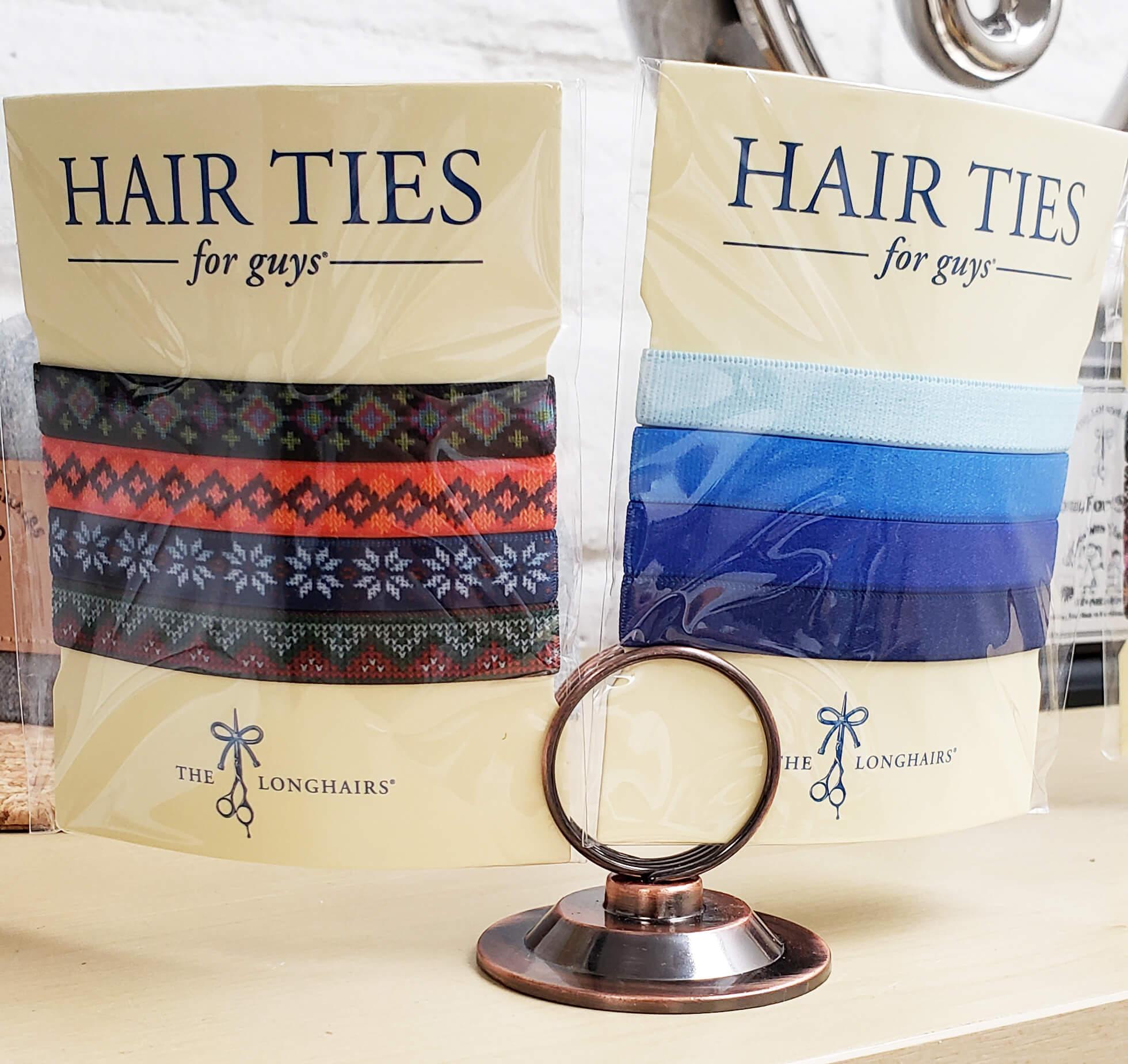 Radar Release Hair Ties For Guys