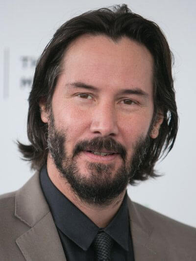 Keanu Reeves mature hairline