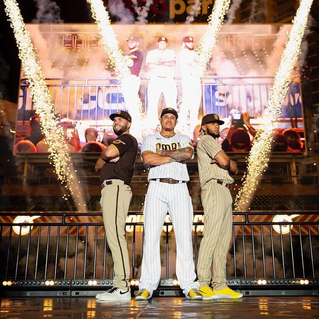 Padres Brown Uniforms