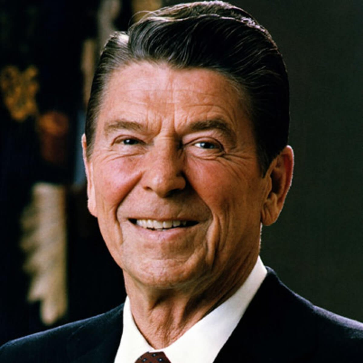 Ronald Reagan Juvenile Hairline