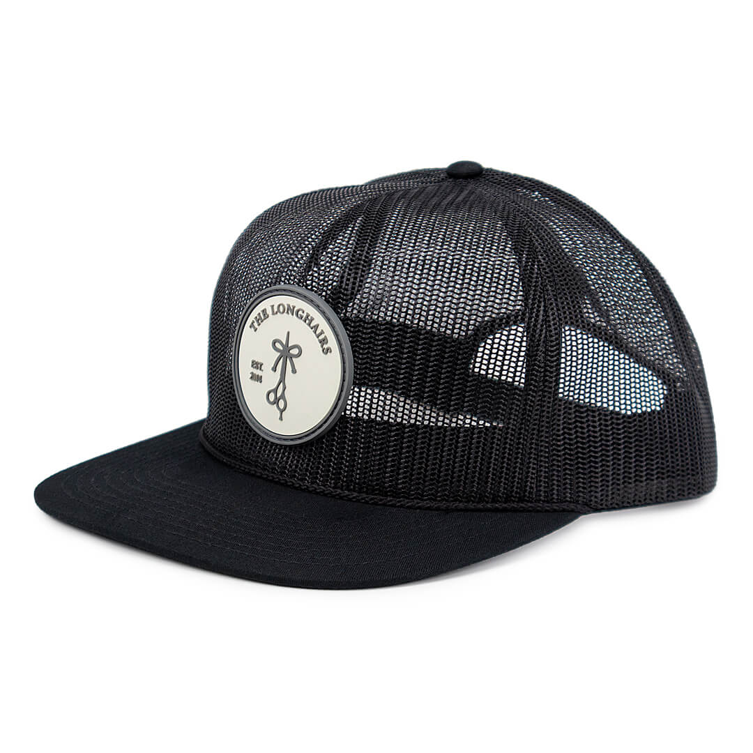 The Longhairs Dialed mesh Trucker Hat