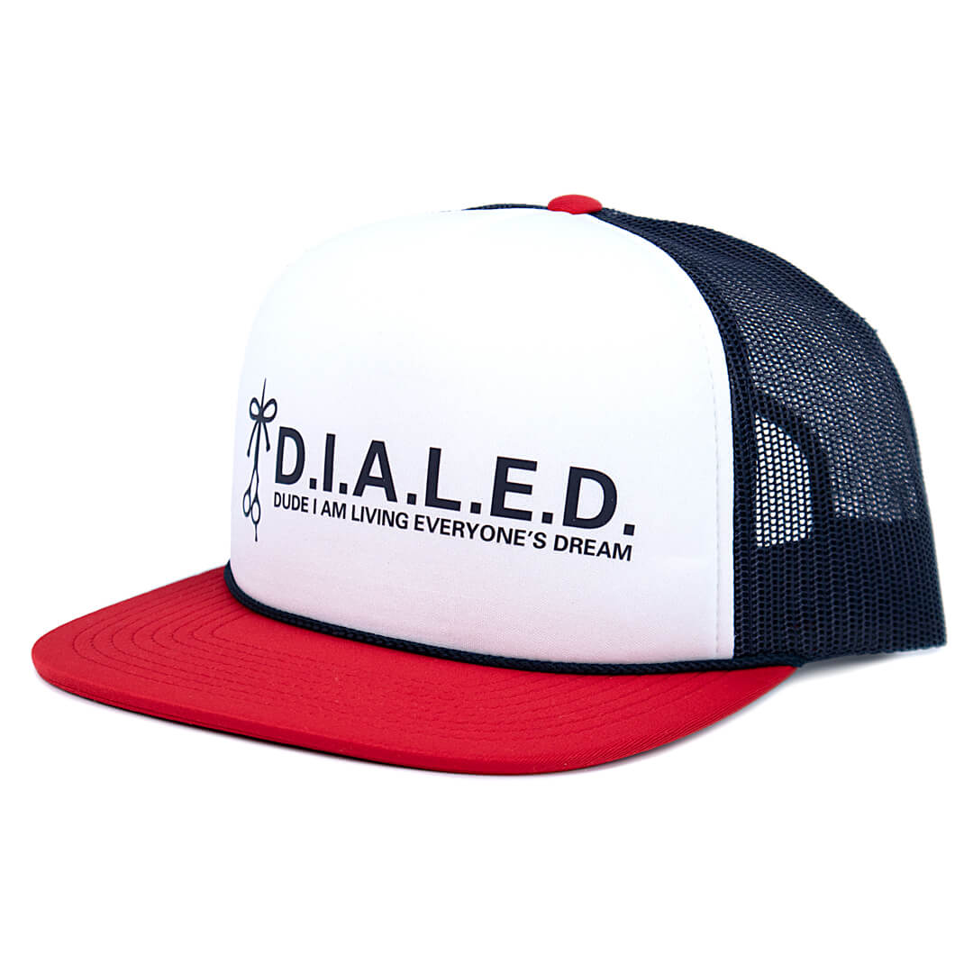 The Longhairs Dialed Trucker Hat
