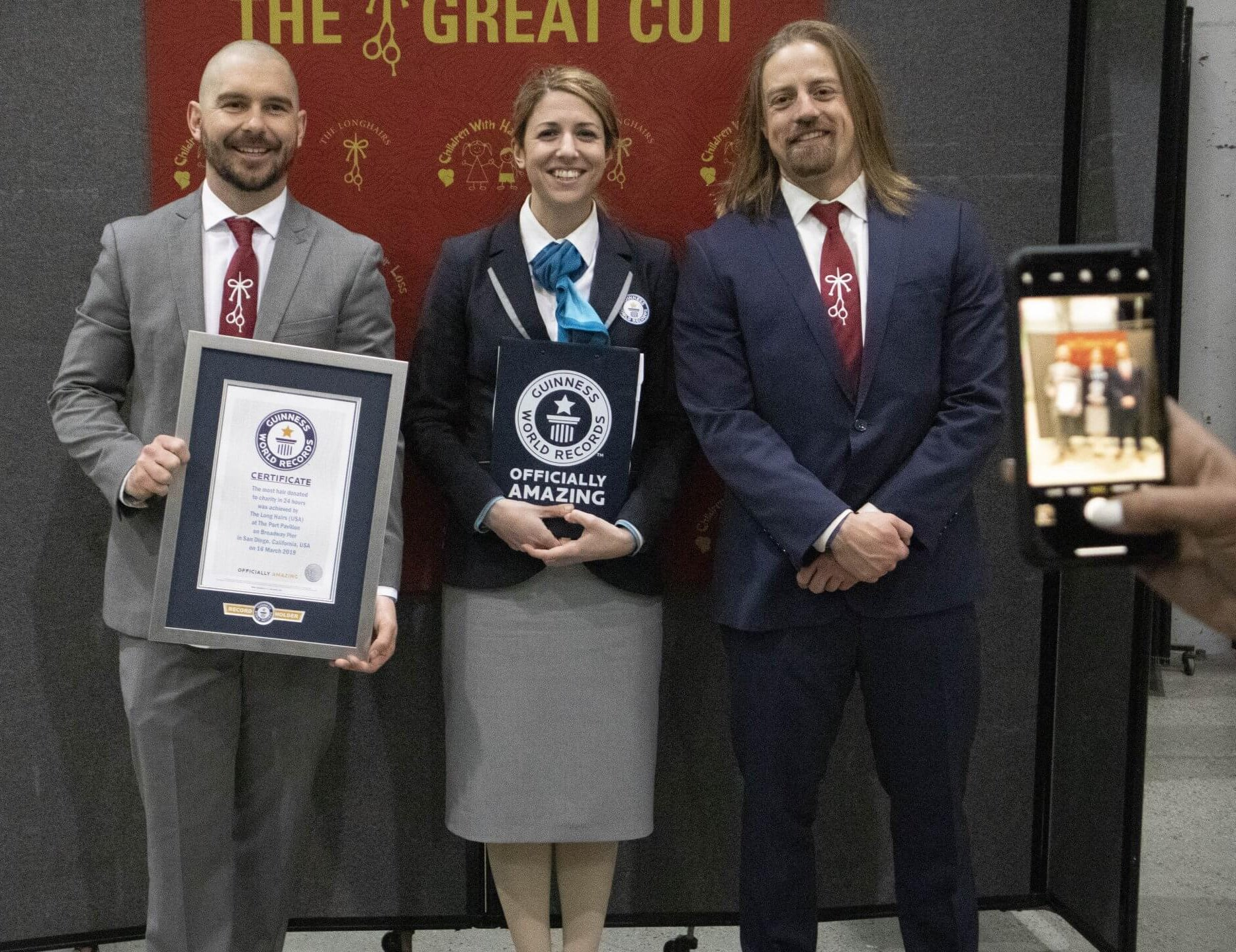 The Longhairs Guinness Book of World Records