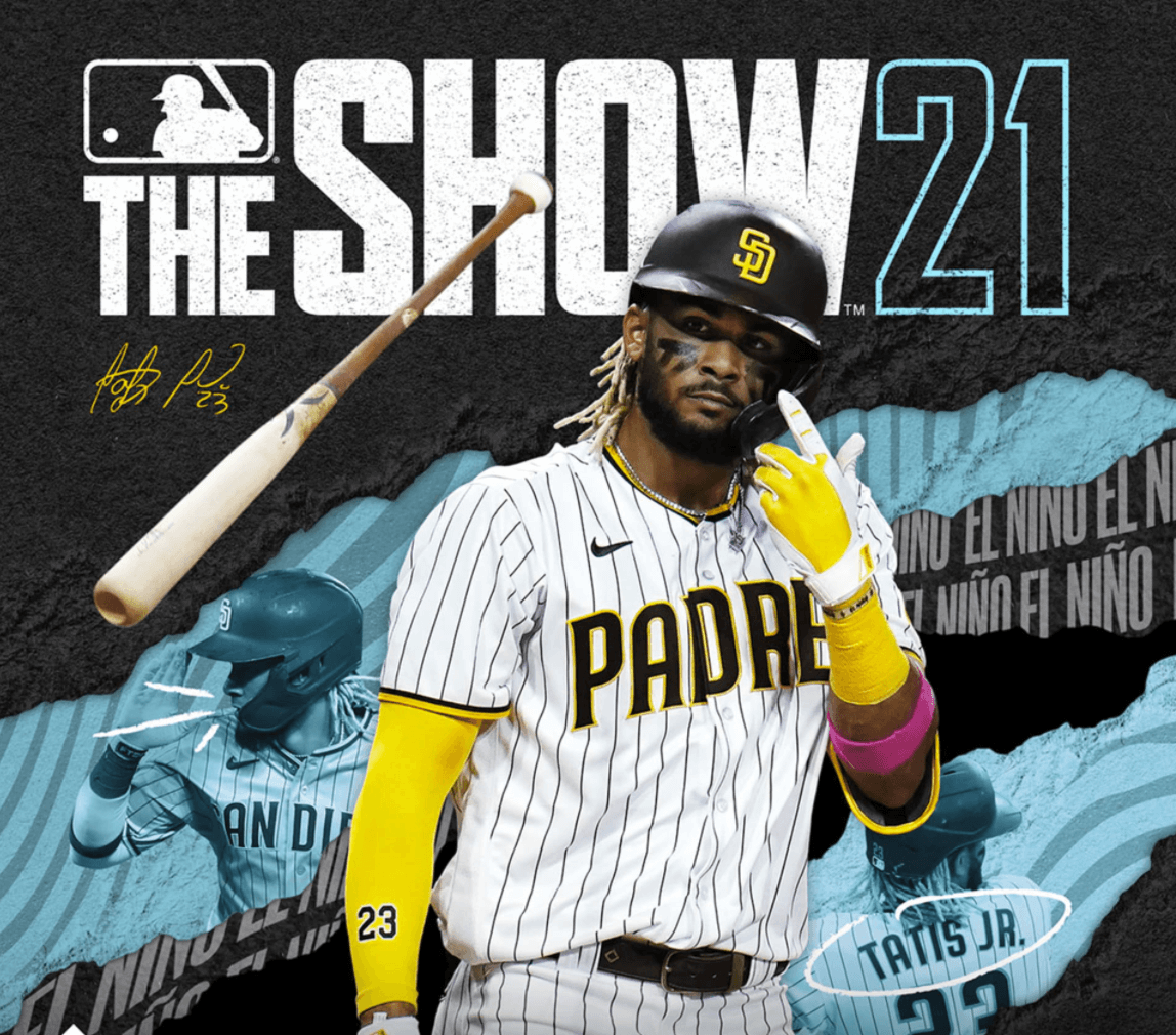 The Cover of The Show 2021 with Fernando Tatis Jr and Hair Ties For Guys