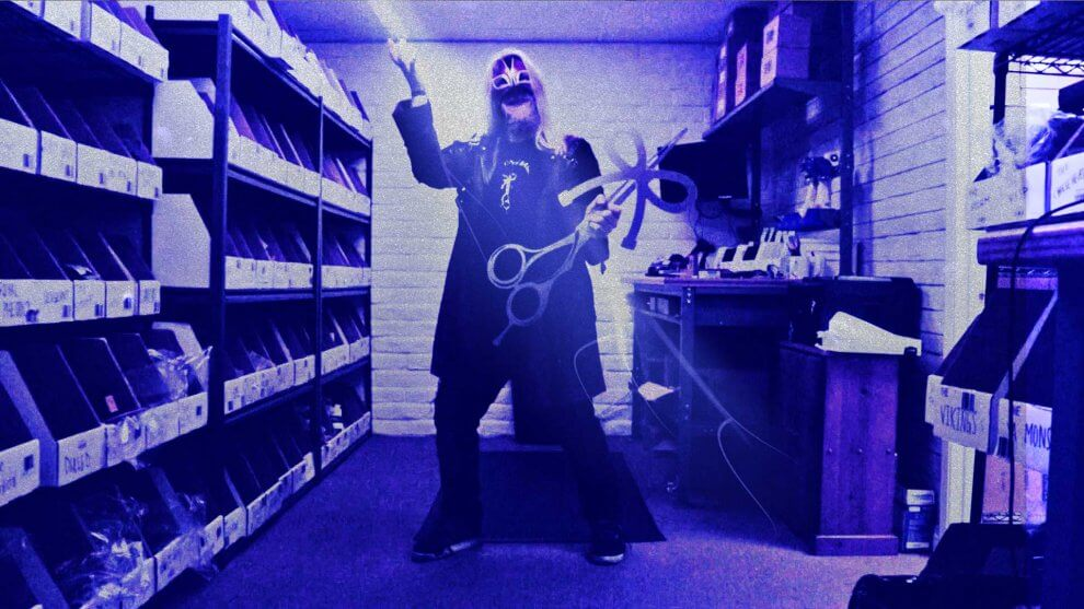 The Shocker at The Longhairs Warehouse