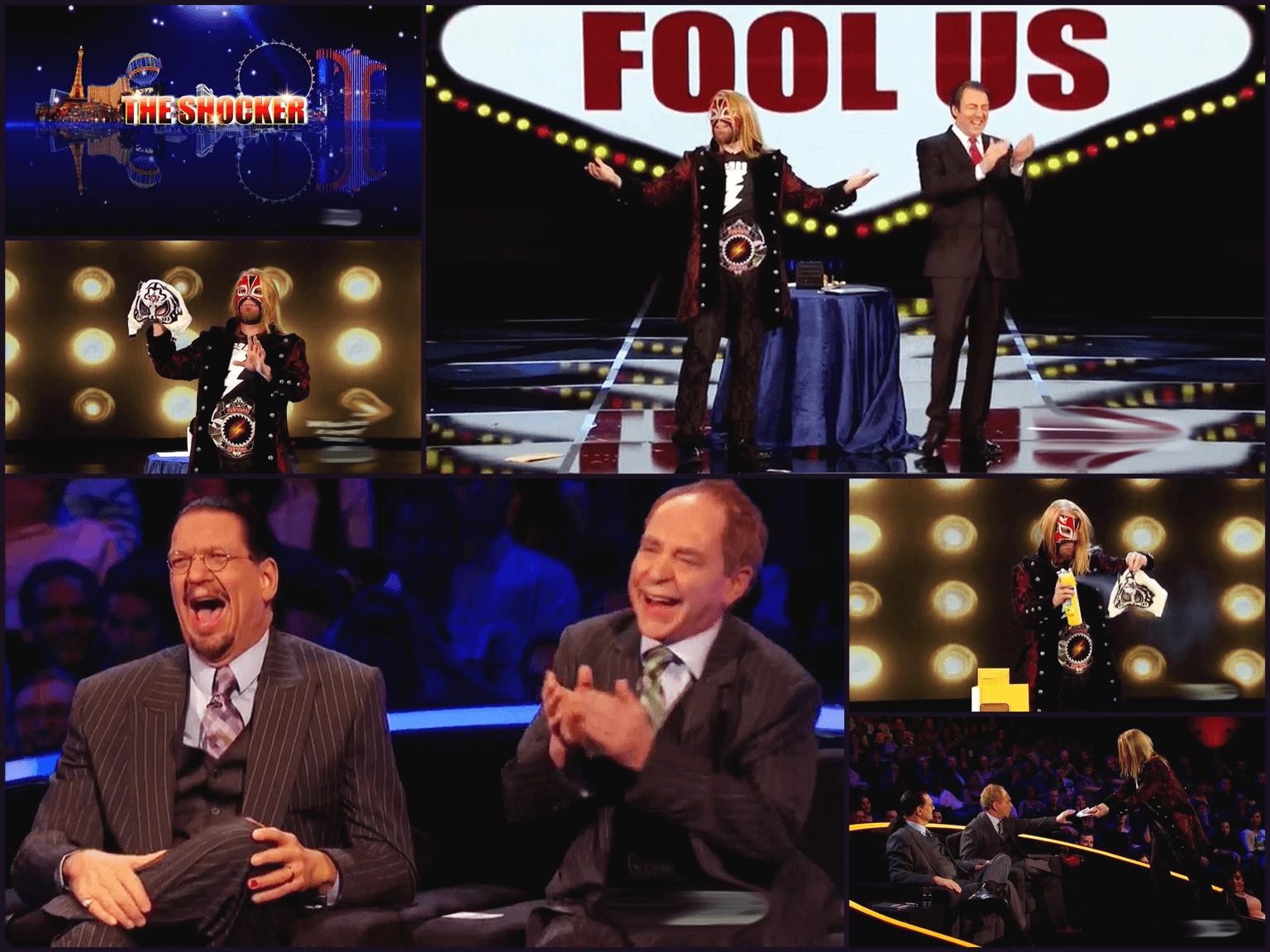 The Shocker on Penn & Teller: Fool Us